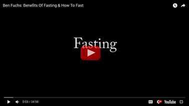 Fasting And How To Fast
